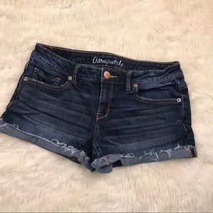 Aeropostale Shorty 4 denim cutoff shorts